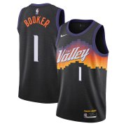 2020/2021 Phoenix Suns Black Swingman Jersey - City Edition