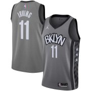Brooklyn Nets Brand Gray 2020/21 Men Swingman Jersey Statement Edition