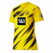 2020/2021 Borussia Dortmund Home Yellow Women Soccer Jersey Shirt
