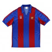 1989-1992 Barcelona Retro Home Red&Blue Men Soccer Jersey Shirt