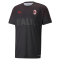 20/21 AC Milan X BALR Signature Black Soccer Jersey Shirt Men
