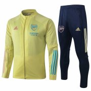 2020-2021 Arsenal Yellow Jacket Soccer Training Suit