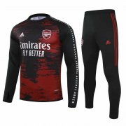 2020-2021 Arsenal Crew Neck Red-Black Soccer Training Suit