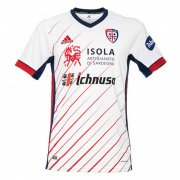 2020/2021 Cagliari Calcio Away White Soccer Jersey Men's