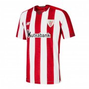 2020/2021 Athletic Bilbao Home Red White Stripes Soccer Jersey Men's