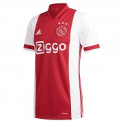 2020/2021 Ajax Home Red&White Soccer Jersey Men's