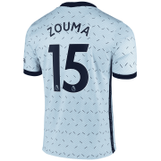 2020/2021 Chelsea Away Light Blue Men's Soccer Jersey Zouma #15
