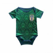 2020 Italy Third Green Baby Infant Crawl Soccer Jersey Shirt