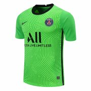 2020/2021 PSG Goalkeeper Green Soccer Jersey Men's