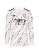 2020/2021 Arsenal Away White LS Soccer Jersey Men's