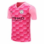 2020/2021 Manchester City Goalkeeper Pink Soccer Jersey Men's