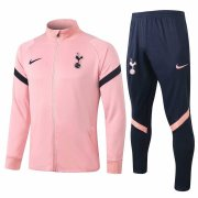 2020-2021 Tottenham Hotspur Pink Jacket Soccer Training Suit