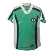 1998 Nigeria Retro Home Green Men Soccer Jersey Shirt