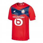 2020/2021 Lille Olympique Home Soccer Jersey Men's
