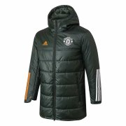 2020/2021 Manchester United Olive Green Soccer Winter Jacket Men's