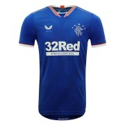 2020/2021 Rangers Home Blue Soccer Jersey Men's