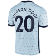 2020/2021 Chelsea Away Light Blue Men's Soccer Jersey Hudson-Odoi #20