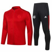 2020-2021 Bayern Munich Red Jacket Soccer Training Suit