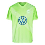 2020/2021 VfL Wolfsburg Home Green Soccer Jersey Men's