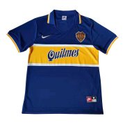 1997 Boca Juniors Retro Home Soccer Jersey Men