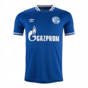 2020/2021 Schalke 04 Home Blue Soccer Jersey Men's