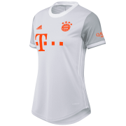 2020/2021 Bayern Munich Away Gray Soccer Jersey Women's