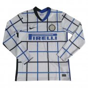 2020/2021 Inter Milan Away LS Soccer Jersey Men's