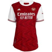 2020/2021 Arsenal Home Red Soccer Jersey Women's