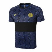 2020/2021 Inter Milan Soccer Training Jersey Blue & Black - Mens