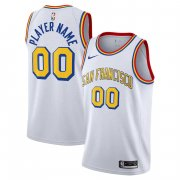 Golden State Warriors White Swingman White - Hardwood Classics - San Francisco Classic Edition Jersey