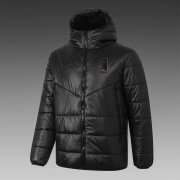 2020/2021 Korea Black Soccer Winter Jacket Men's