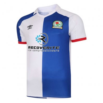 2020/2021 Blackburn Rovers Home Soccer Jersey Men's