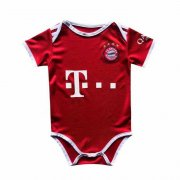 2020/2021 Bayern Munich Home Red Baby Infant Crawl Soccer Jersey Shirt
