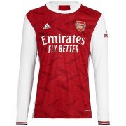 2020/2021 Arsenal Home Red LS Soccer Jersey Men's