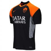 2020/2021 AS Roma Third Black Soccer Jersey Men's