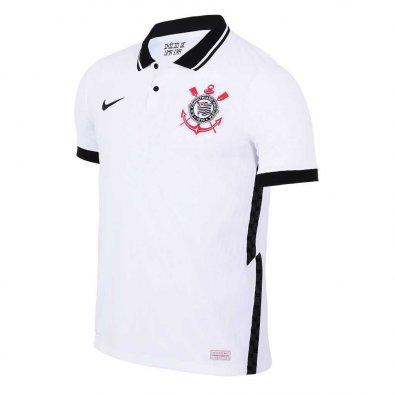 2020/2021 Corinthians Home White Men Soccer Jersey Shirt
