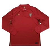 2020 Portugal Home LS Soccer Jersey Men's