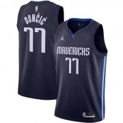 Dallas Mavericks Navy Men Swingman Jersey Statement Edition