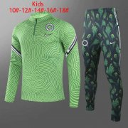 2020/2021 Nigeria Green Kid's Soccer Training Suit