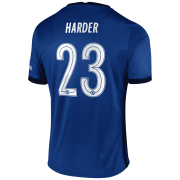 2020/2021 Chelsea Home Blue Men's Soccer Jersey Harder #23