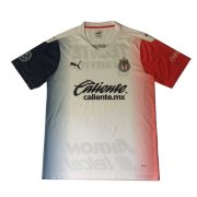 2020/2021 Chivas Away White Men Soccer Jersey Shirt