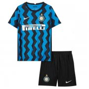 2020/2021 Inter Milan Home Blue Kids Soccer Jersey Kit (Shirt + Short)
