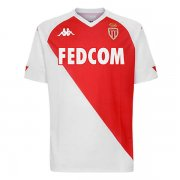 2020/2021 AS Monaco Home Red White Soccer Jersey Men's