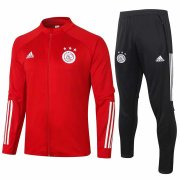 2020-2021 Ajax Red Jacket Soccer Training Suit