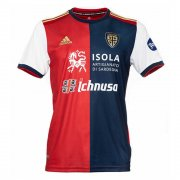 2020/2021 Cagliari Home Navy Red White Soccer Jersey Men's