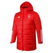2020/2021 Ajax Red Soccer Winter Jacket Men's