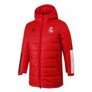2020/2021 Real Madrid Red Soccer Winter Jacket Men's