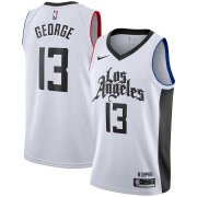 2020/2021 Los Angeles Clippers White Swingman Jersey City Edition