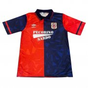 1991/92 Cagliari Calcio Retro Home Soccer Jersey Men