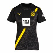 2020/2021 Borussia Dortmund Away Black Women Soccer Jersey Shirt